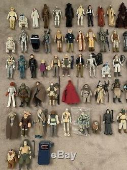 Figures Vintage Star Wars Emploi Lot