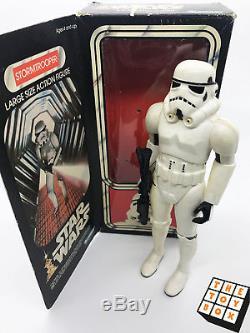 Figurine Articulée Kenner Avec Poupée Star Wars Vintage Star Wars Stormtrooper Avec Blaster 12