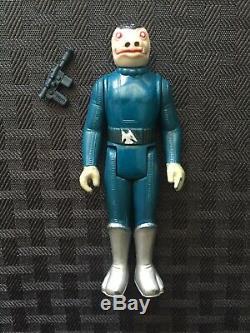 Figurine Articulée Star Wars Vintage Snaggletooth Bleue 1978 Une Exclusivité Sears