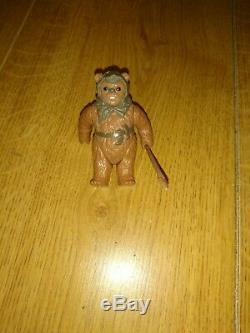 Figurine Complète En Ewok Vintage Star Wars Last 17 Romba