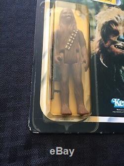 Figurine De 1983 À Chewbacca De Jedi Rotj De Star Wars Avec Retour, Cardée, Moc 77
