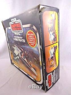 Figurine De Chasseur Palitoy Star Wars X-wing Vintage Des Années 1980 Complete Esb Rare