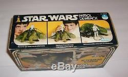 Figurine Dewback Vintage De Star Wars Non Utilisée Nouvelle Dans Une Boîte Kenner 1977