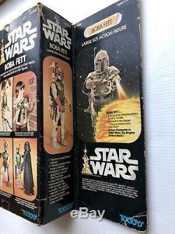 Figurine Kenner De Grande Taille, Boba Fett, Vintage Star Wars