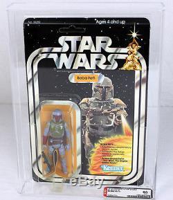 Figurine Star Wars 21 Back-b Boba Fett Vintage Afa 80 Nm # 14538773