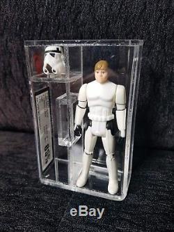 Figurine Star Wars Vintage, Luke Stormtrooper, Les 17 Derniers, Ukg 85% Non Afa