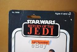 Figurine Vintage 65 Star Wars Farmboy Luke Skywalker De Star Wars Avec Étui Kenner Moc