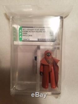 Figurine Vintage Avec Cape De Vinyle Star Wars Jawa De Kenner