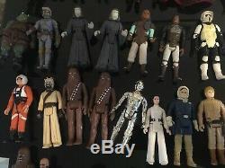 Figurine Vintage De Star Wars - Jouets Kenner 1977 - 1983 - Lot De 66 Figurines, Etc