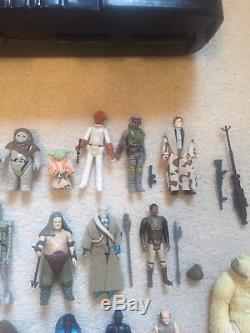 Figurines Star Wars Vintage Lot De Travail Tous Guns Originaux 17 Aucun Reproduction