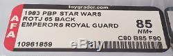Garde Royale De L'empereur Vintage Star Wars Pbp Afa 85 (80/85/90)! Super Rare Moc