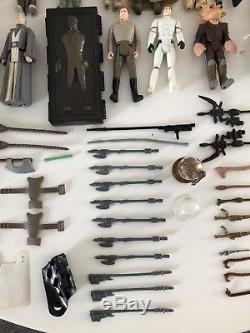Grandes Figurines Star Wars Et Lot D'armes
