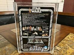 Guerres Anciennes Étoiles 1978 Kenner Vinyle Cape Jawa 12 Retour Action Figure Afa 85 Rare