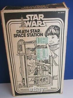 Guerres Complets Étoiles Vintage La Mort Star Space Station Playset Kenner Originale 1977