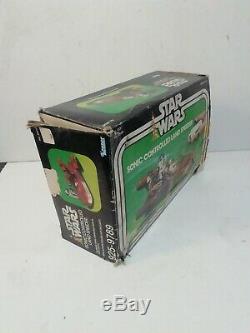Guerres D'étoile Vintage Sonic Contrôlée Landspeeder, 1970 Boxed Très Rare Original