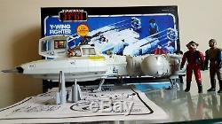 Guerres D'étoile Vintage Y-wing Fighter Boxed 1983, Instructions Bombe Originale Kenner