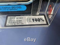 Guerres Vintage Étoiles D2-pop R2 Up Lightsabre Retour 92a Potf Ukg Y-40 Graded