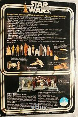 Han Solo Petite Wars Vintage 1978 Étoiles Head 12 Retour C Afa 75