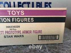 Hasbro Boba Fett Prototype Armor Vc61 Star Wars Vintage Collection Sealed Case