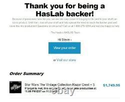 Hasbro Haslab Pulse Star Wars L'ancienne Collection Razor Crest Nouveau Pre-order