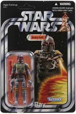 Hasbro Kenner Star Wars Collection Vintage Fuseau De Fusée Boba Fett Etui Scellé