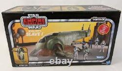 Hasbro Star Wars The Vintage Collection Boba Fetts Esclave I Prix De Vente Conseillé 149,99 € Lot Gddb