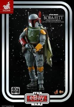 Hot Toys Mms 571 Star Wars Empire Contre-attaque Boba Fett (version Couleur Vintage)