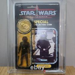 Imperial Gunner Vintage Figure Moc Star Wars Last 17 Potf Afa Ukg F90