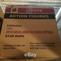 Jabbas Sail Barge Avec Yakface Khetanna Haslab Hasbro Collection Star Wars