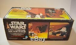 Jawa Sandcrawler Vintage Radio Control Vintage Star Wars Très Rare! Mib