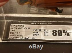 Jawa Vcj Ukg De Capa De Vinyle De Star Wars 1977 De 1977 Classé 80%