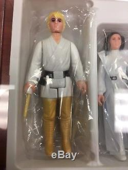 Jeu D'affranchissement Early Bird Vintage Kenner Star Wars Dt Double Télescopique Luke Afa75