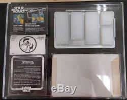 Jeu De Figurines À Tirage Hâtif Vintage Kenner 1977 Star Wars Scellé À L'étalage