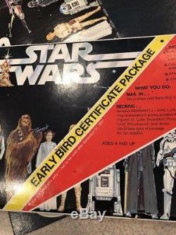 Jeu Tôt Oiseau Star Wars Vintage Avec Dt Luke Et Certificat Eb