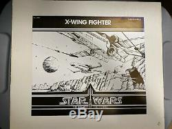 Kenner Presentation Conseil Star Wars X-wing Potf 1985 Vintage Withcib Lettre No Afa