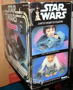 Kenner Scellé En Usine Par Vintage Star Wars 1978 De Dark Vador Cie Fighter Misb