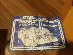 Kenner Star Wars Vintage 1979 Droid Factory Presque Complet, Original Avec Box