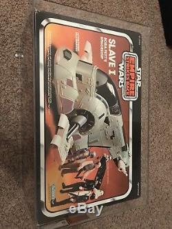 Kenner Star Wars Vintage 1981 Boba Fett Esclave 1 Véhicule Graded Afa 80