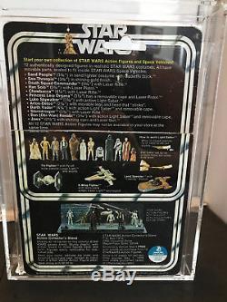 Kenner Star Wars Vintage Luke Skywalker Farmboy Cas 80 (figure) Avec Carte De 12c