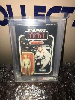 Kenner Star Wars Vintage Rotj Luke Skywalker Artilleur Variante 77 Retour A Afa 85
