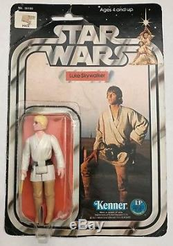 Kenner Vintage 1978 Star Wars Luke Skywalker 12 Précédent Moc Afa Ready