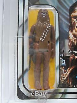 Kenner Vintage Moc 1978 Star Wars Nouveau Espoir 12-back Un Pied De Chewbacca Sku Afa 80