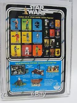 Kenner Vintage Moc 1978 Star Wars Nouvelle Espérance 21-back Étoile Noire Droid Afa 80 Afa80