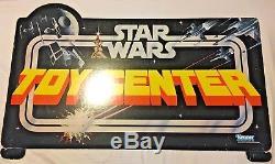 Kenner Vintage Star Wars Action Figure Toy Center Gondole En-tête Signe