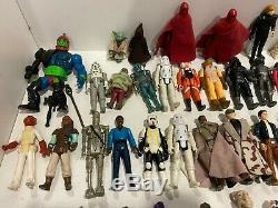 Konvolut Cru 70er Jahre Star Wars Figuren 52 Stück