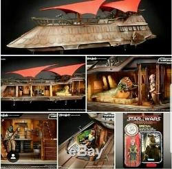 La Collection Vintage De Star Wars Haslab Jabba's Kiletnana Khetanna Avec Yakface