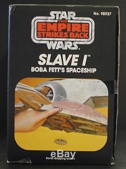 La Collection Vintage Slave I Factory De Boba Fett, Boîte Aux Lettres Scellée Star Wars