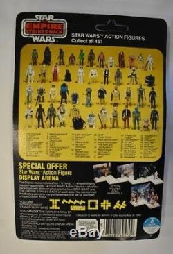 La Guerre Des Étoiles Vintage Luke Skywalker Empire Fait Grève En Arrière 45 Arrière Kenner Afa Prêt