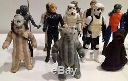 Le Lot De Figurines Action Vintage Star Wars Comprend Lumat Last 17, Jawa, Etc.