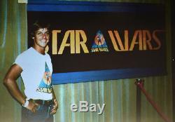 Le Star Wars Vintage 1976 Ralph Mcquarrie Sdcc Comic Con Autocollant Pré-production
